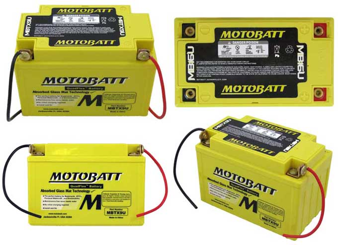 MOTOBATT High Torque Battery YB14L A2 12V 165AH Battery Upgrade